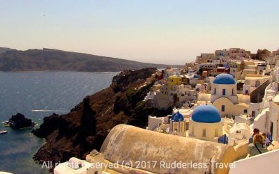 3 Days In Santorini – Blue Roofs & Blue Water