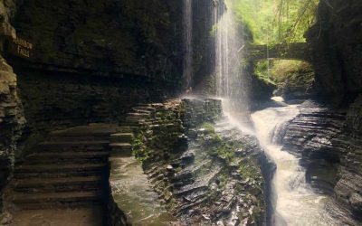 A Day Of Chasing Waterfalls Along The Watkins Glen State Park Trails