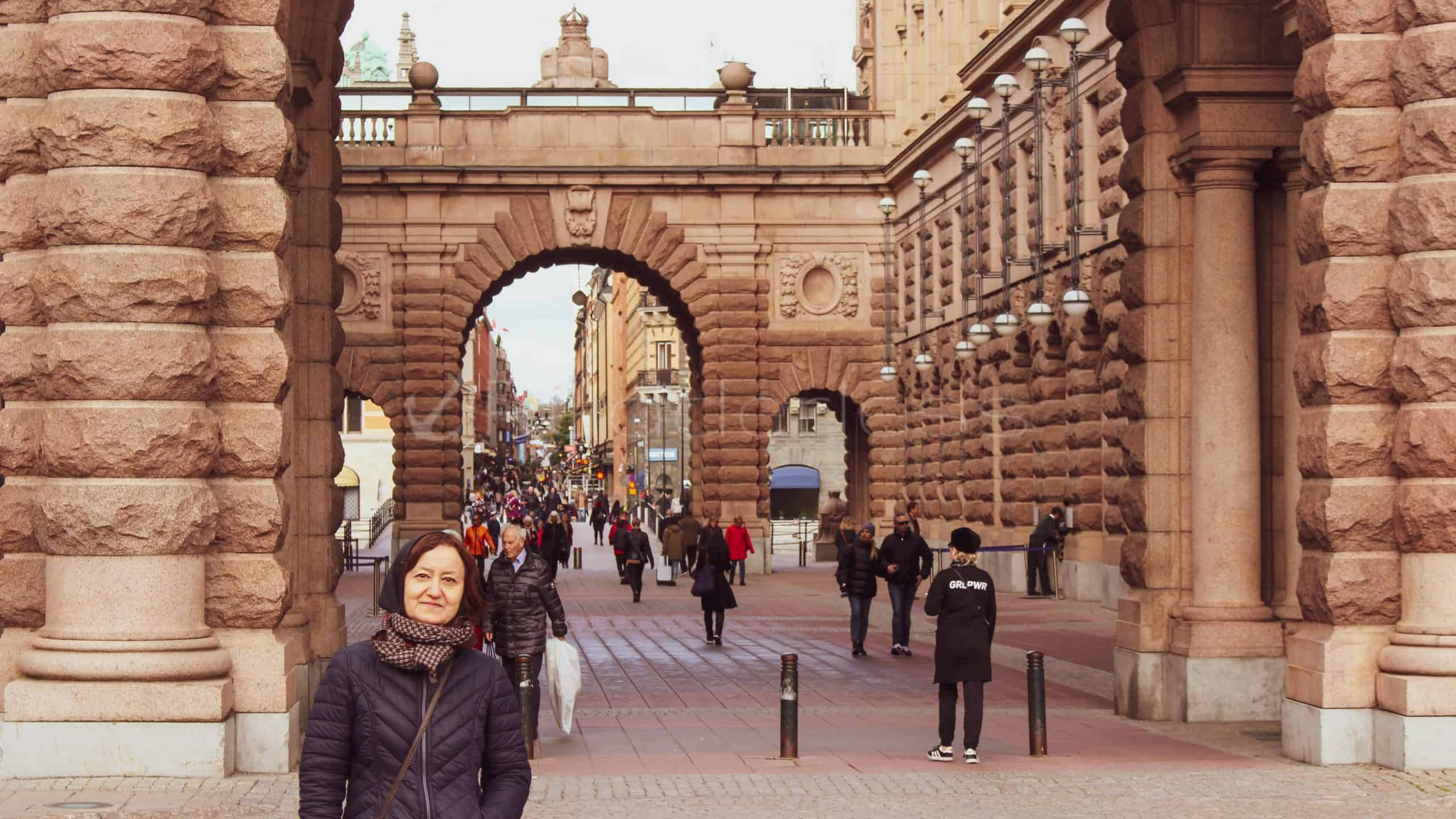 stockholm itinerary - The Parliament House