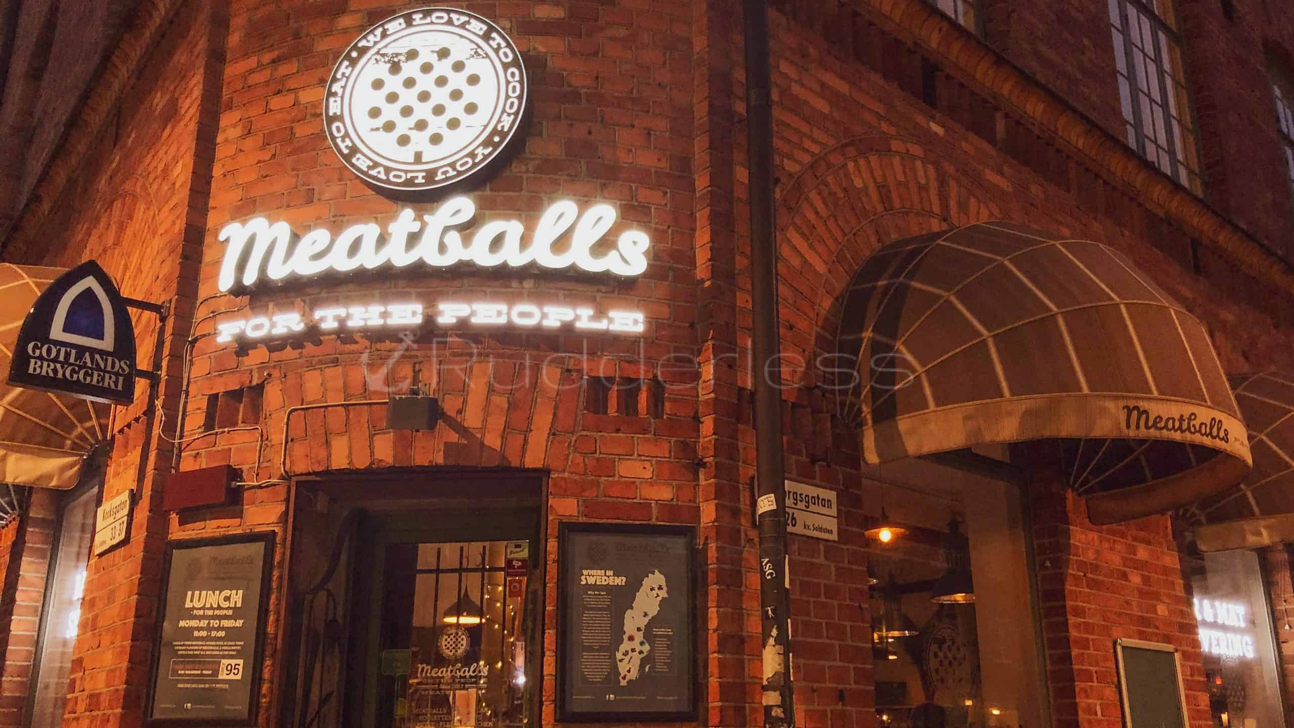 meatballs for the people - stockholm restaurants